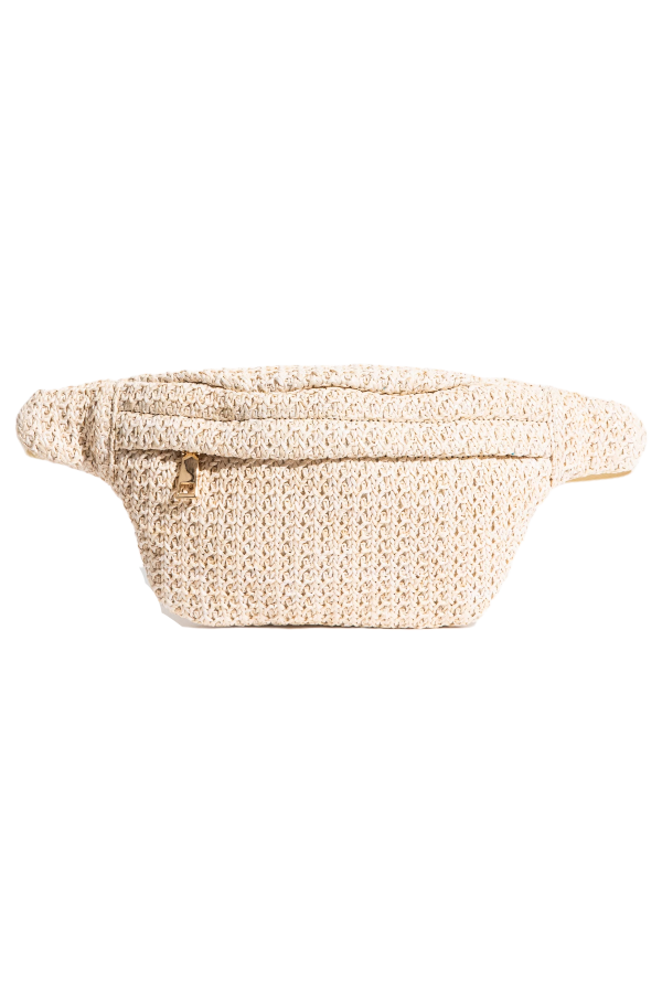 Rae of Light Rafia Fanny Pack