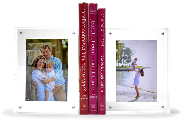 Thick Photo Book Ends