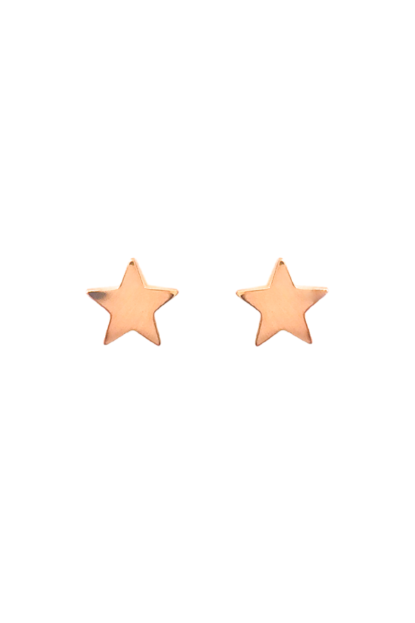 Mini Rose Gold Stars