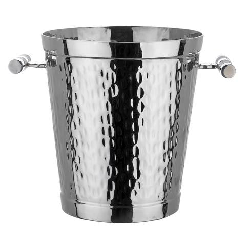Stainless Steel & Shagreen Wine Bucket