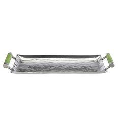 Stainless Steel & Shagreen Tray (Large & Small)