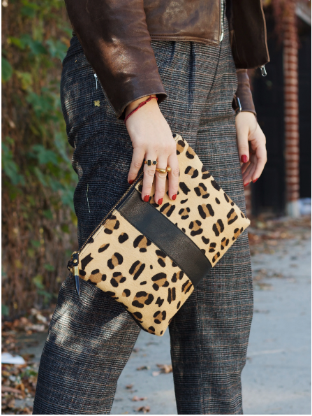 Leopard Clutch/Pouch