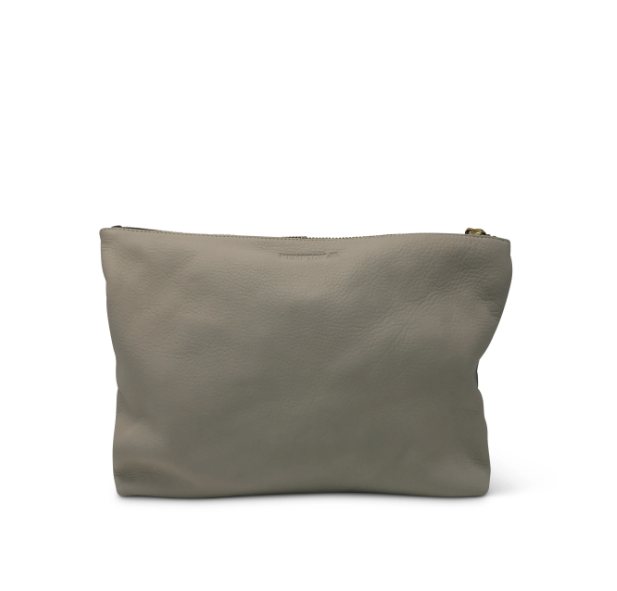 Medium Garden Leather Clutch/Pouch