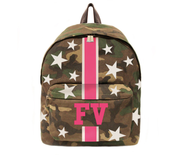 Camouflage Backpack w/ Stars