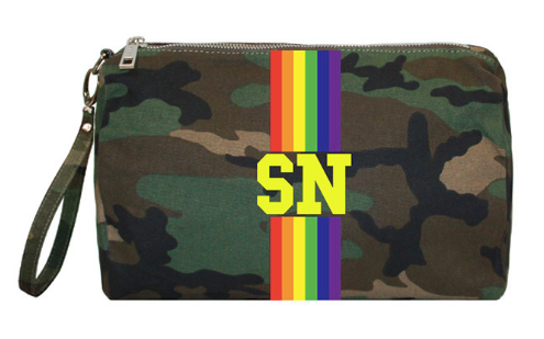 Camouflage Rainbow Case/Pouch