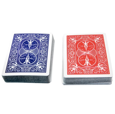 """LA PINTA MIRROR"" Luxe Dominos Mirrored Card Deck Set (Silver/Gold)"