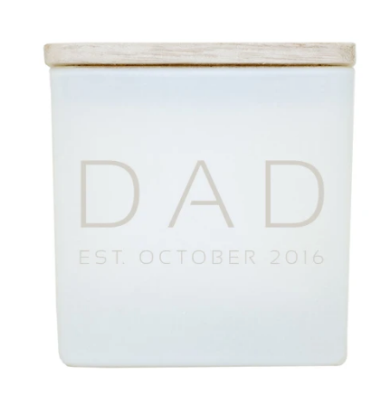 TAJA Candle Future Dad (Year Established)