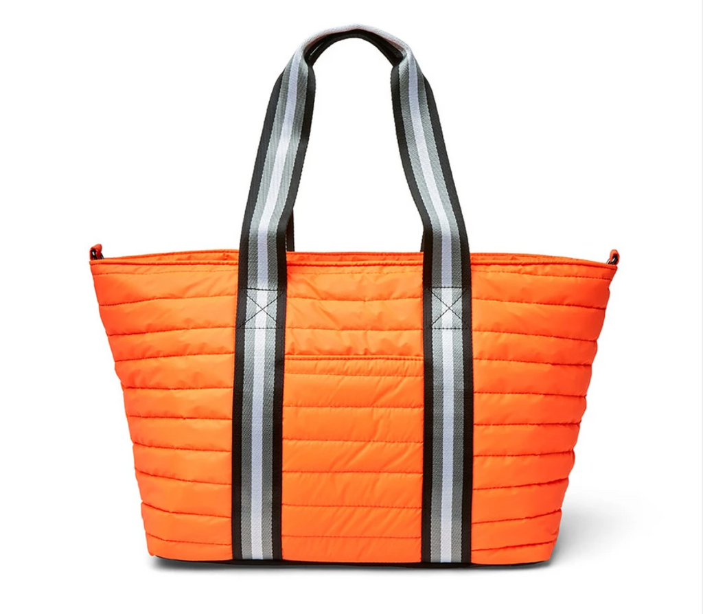 Think Royln Wingman Orange Reflective Nylon Tote