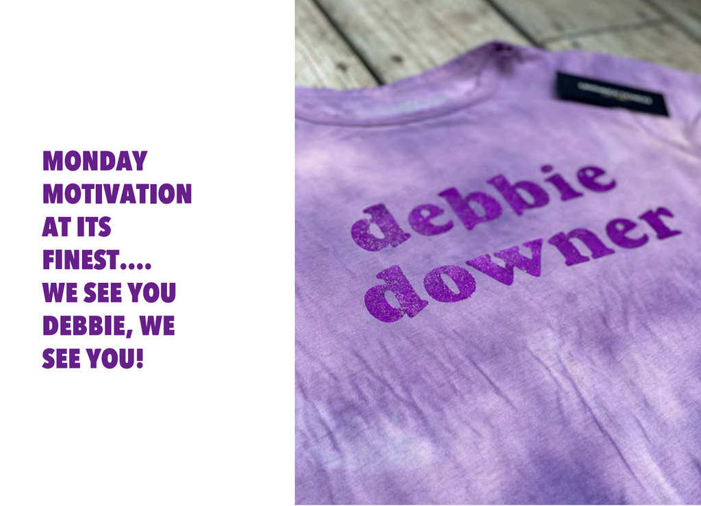 Unsweetened NY Debbie Downer Grape Tee