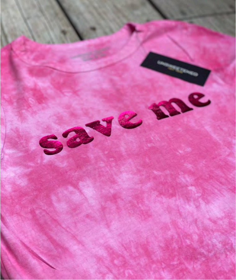 Unsweetened NY Save Me Bubblegum Tee