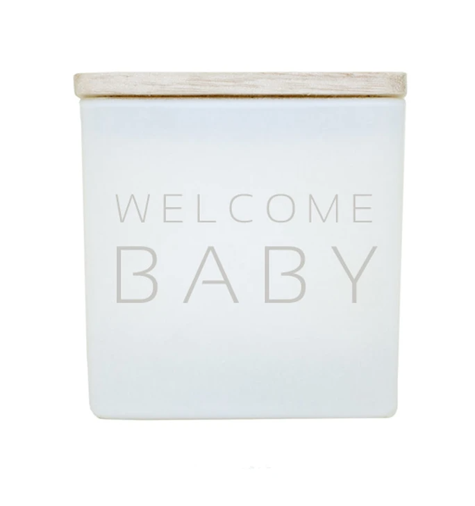 TAJA Candle Welcome Baby