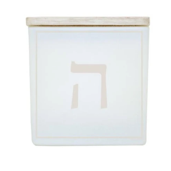 TAJA Candle Happy Hannukah Dreidel