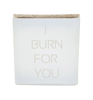 TAJA Candle I Burn For You