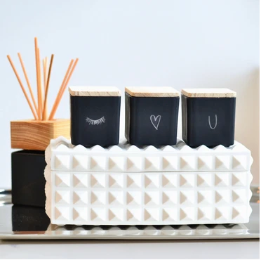 TAJA Candle I Heart You Gift Set