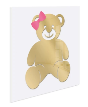 4artworks Teddy Wall Sculpture Decor (Various Colors)