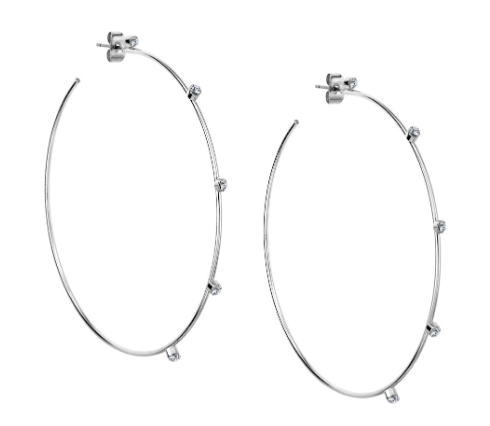 Hoops with Crystals 2