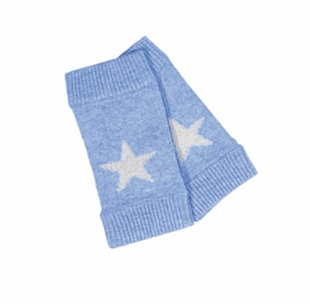Brodie Cashmere Star Wrist Warmer (Blue or Pink)