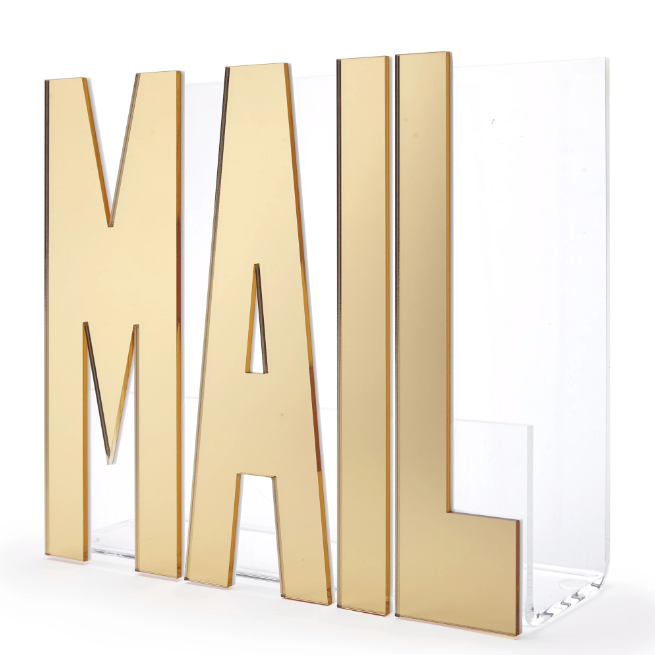 Mail Holder (Gold or White)
