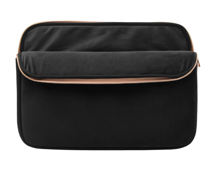 Black Velour Laptop Sleeve