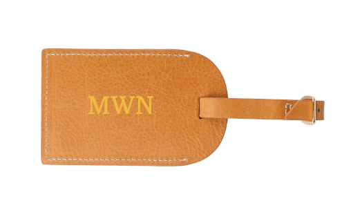 Luggage Tag w/ Flap