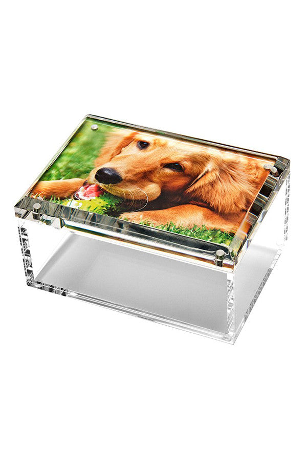Lucite Photo Box Medium