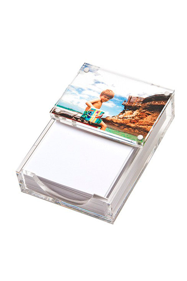 Lucite Photo Paper Holder (Multiple Colors)