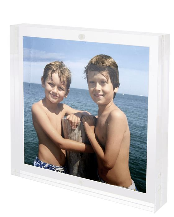 Lucite Block Photo Frame (Multiple Sizes)