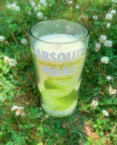 ABSOLUT PEARS Vodka Candle