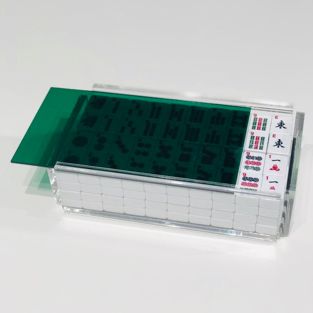 """EL MAHJONG"" Acrylic Mahjong Game Set (Various Colors or Mirrored)"