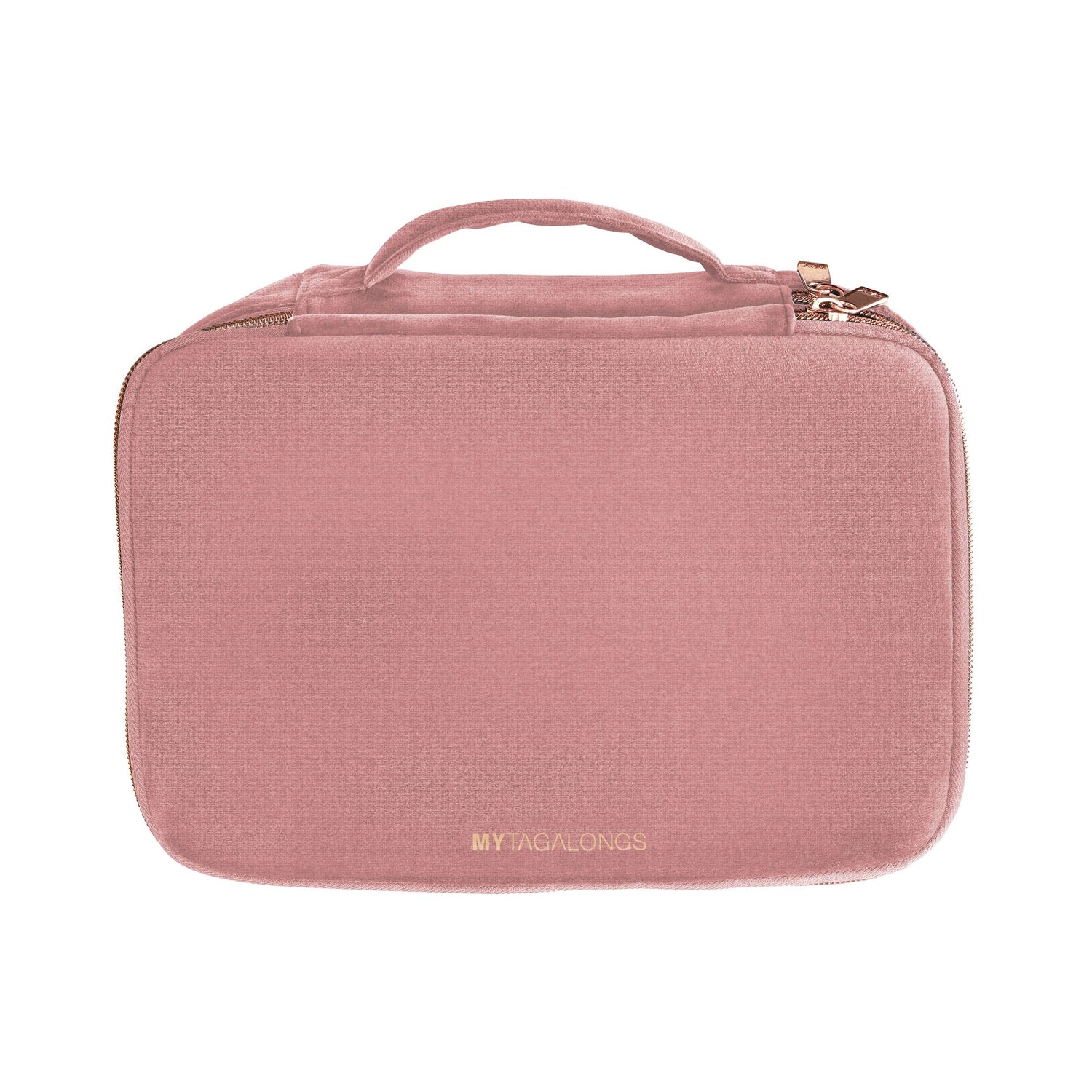 Rose Velour Cosmetic Case