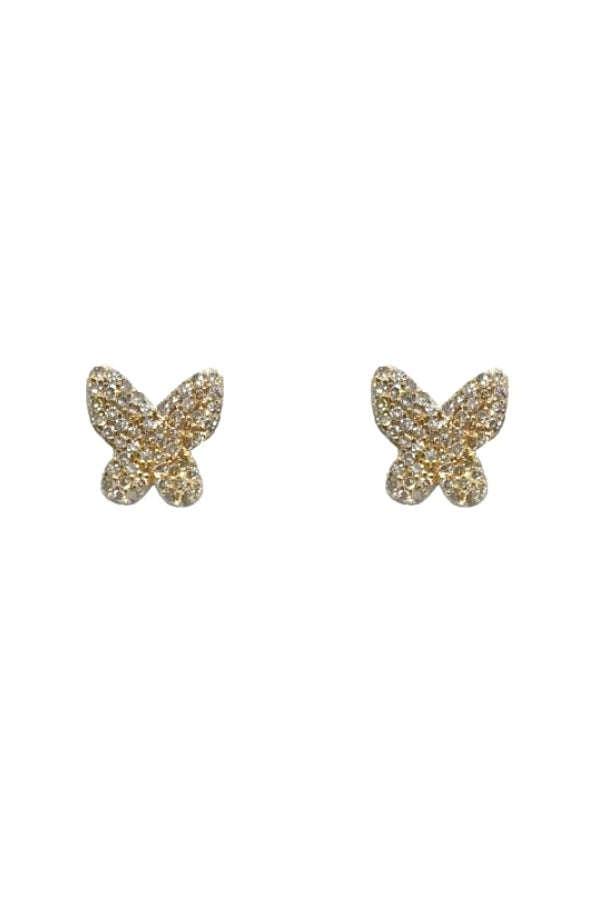 Gold Diamond Butterflies