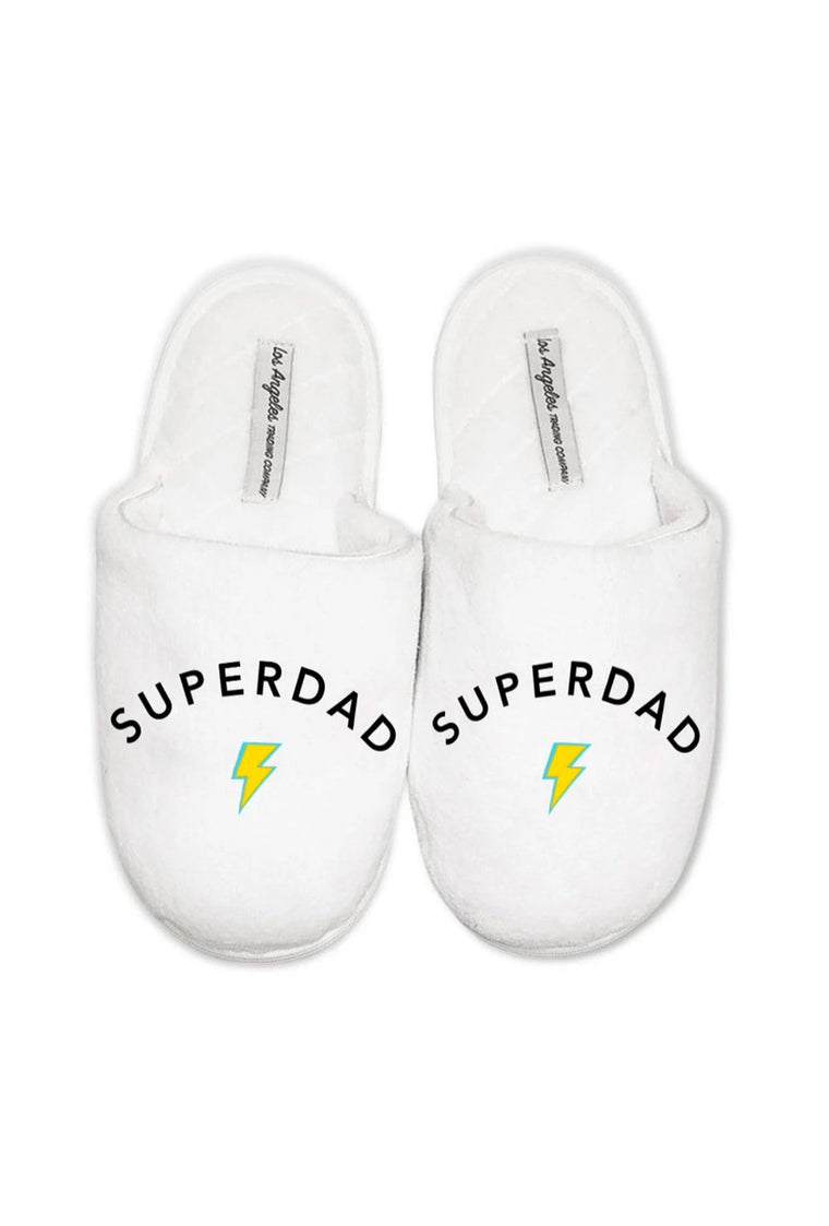 LA Trading Co Plush Superdad Slippers