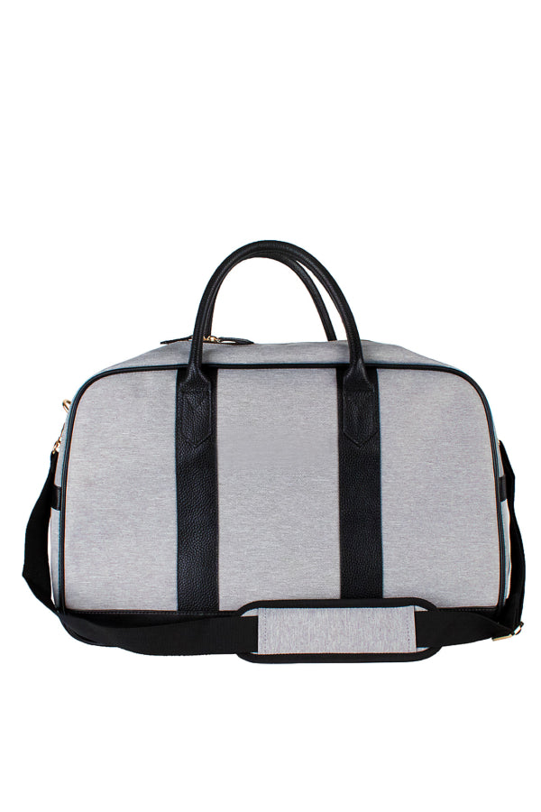 Grey Overnight Duffle w/ Monogramming