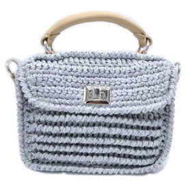 Mini Light Grey Baghera Bag
