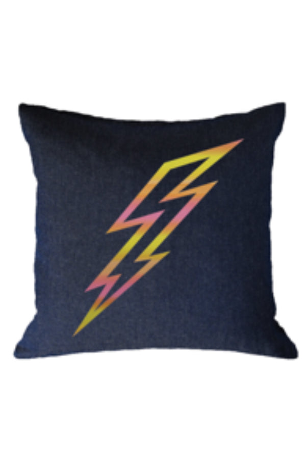 Pillow Denim w/ Lightning Bolt