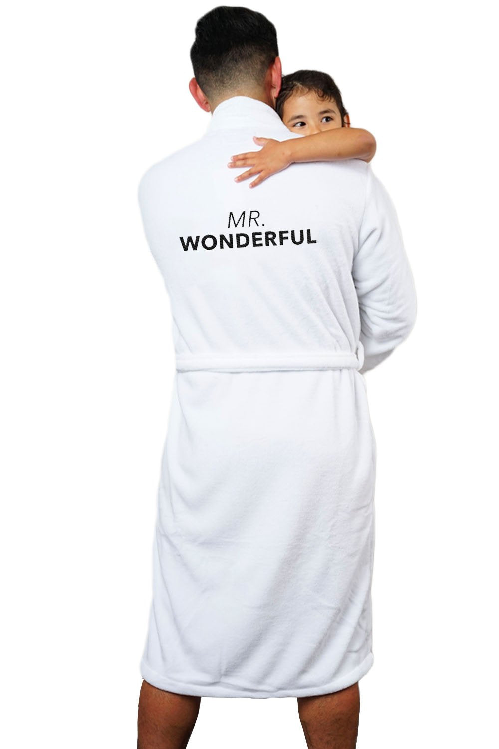 LA Trading Co Mr. Wonderful Plush Robe