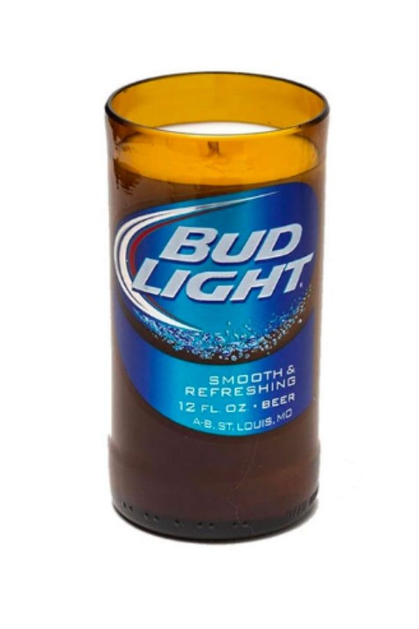 Bud Light Candle