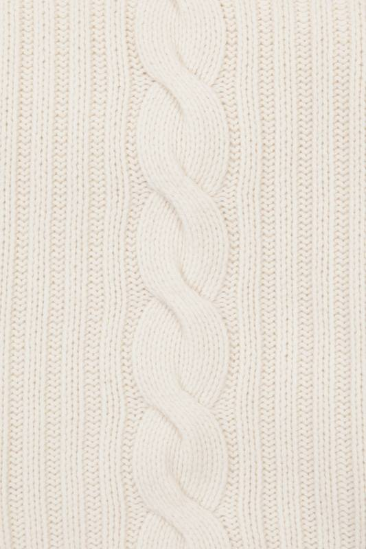Rani Arabella 100% Cashmere Throw Ivory