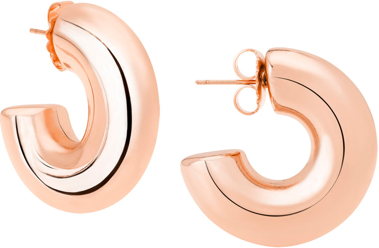 Janis Savitt Small Hoop Earrings (Various Colors)