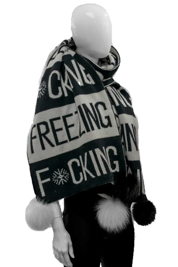 F*cking Freezing Scarf