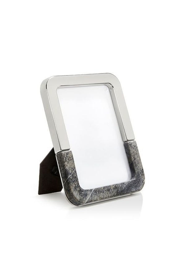 Silver & Marble Photo Frame