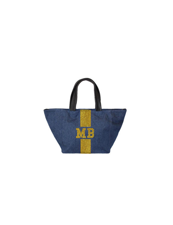 Denim Mini Tote