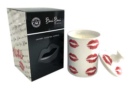 Red Lips Candle