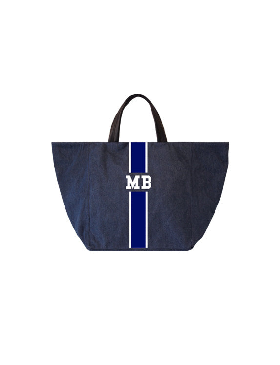 Denim Large Tote
