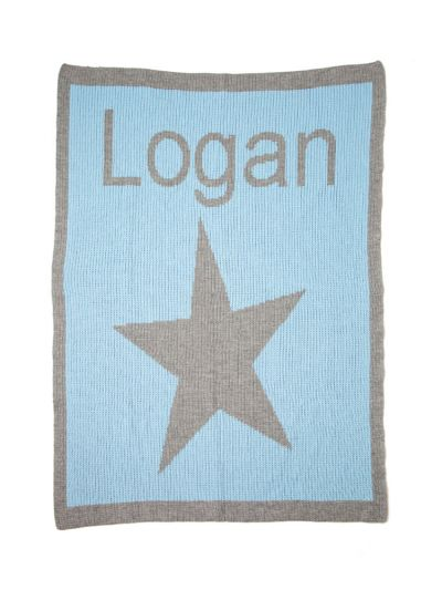 Star & Name Custom Blanket