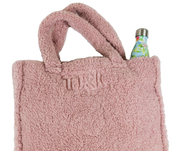 Rae of Light Teddy Tote (Blush or Cream)