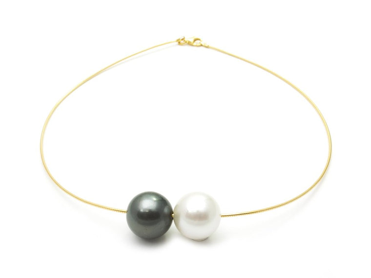Samira Jewelry Double Pearl on Wire