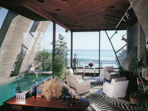 Rooms We Love | John Lautner Stevens House, Malibu