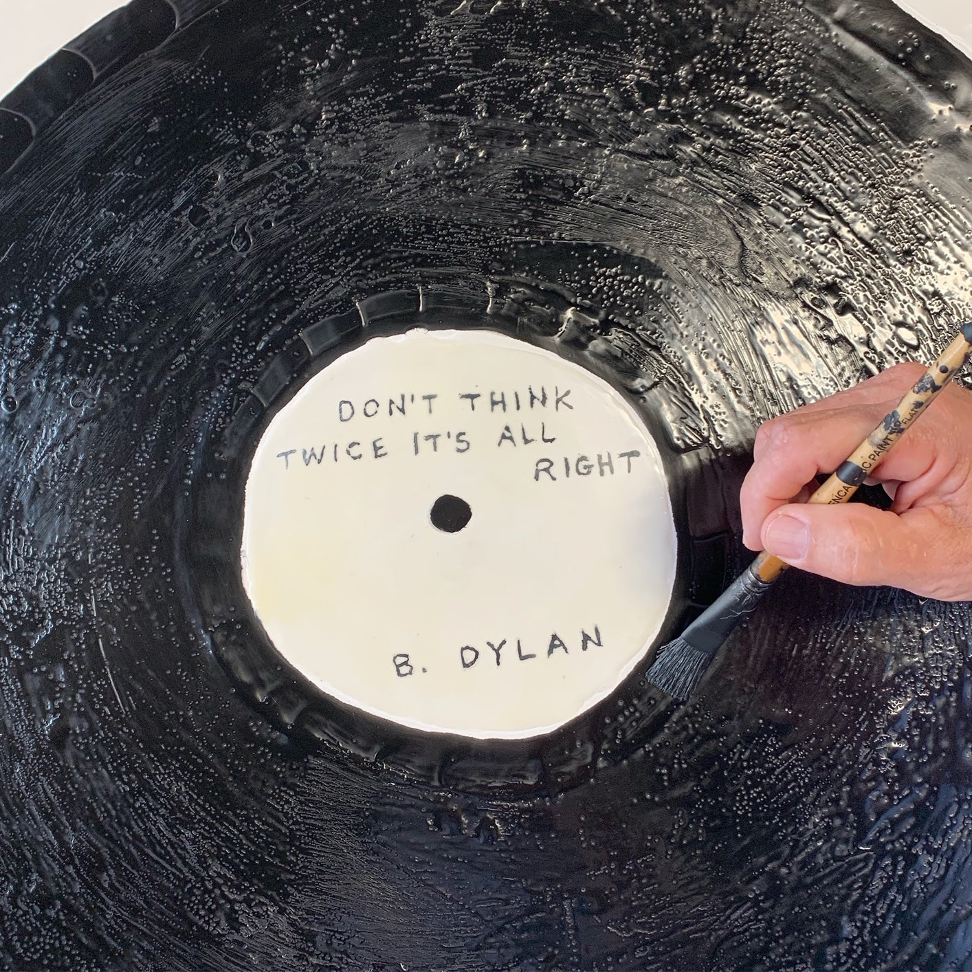 Custom Vinyl Record Art. Your Favorite Song. - FORSYTH