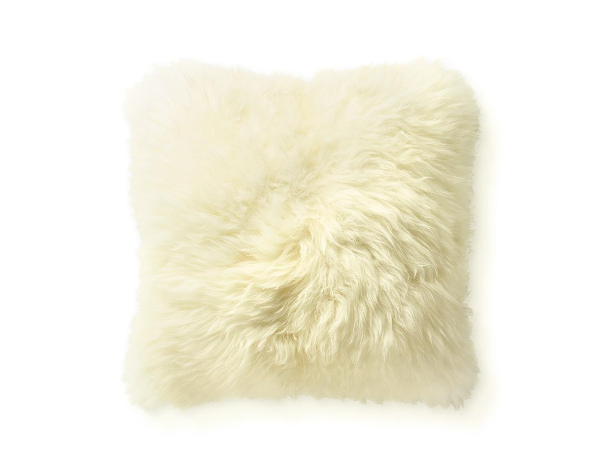 "Brazilian Sheepskin Pillow, 18"" - FORSYTH"